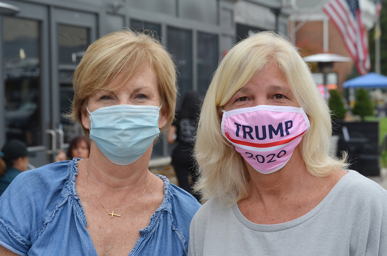 Trump supporters Nanci McGuire and Erin Ridge of Scotch Plains.png
