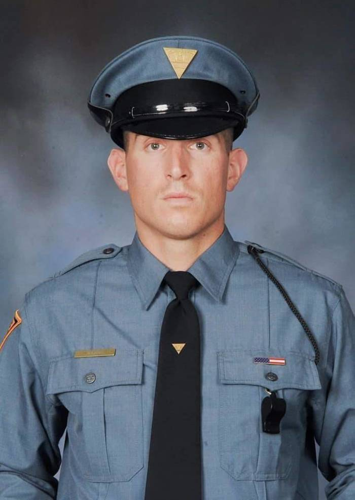 Local NJ State Trooper Helps Rescue Man and Dog from Cliff