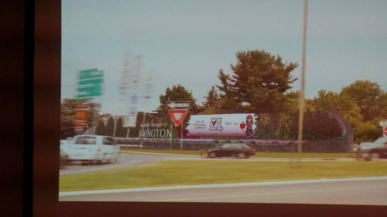 'Living Wall,' Billboards, Under Review by Flemington Planning Board