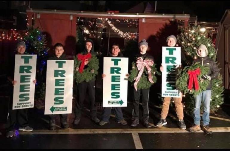 Clark's Troop 145 Invites Community to Shop Local for Christmas Trees and More