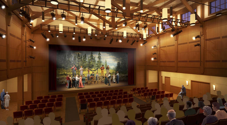 Trilogy opens Fellowship Cultural Arts Center