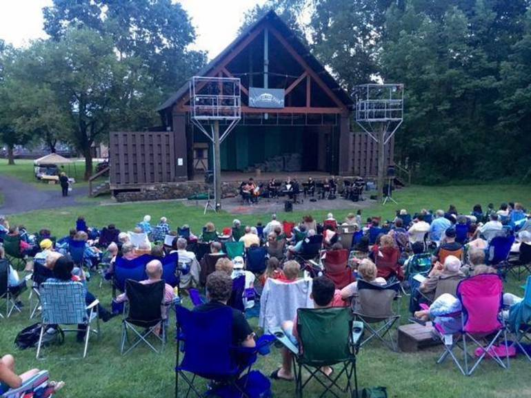 Outdoor plays at Pleasant Valley Park