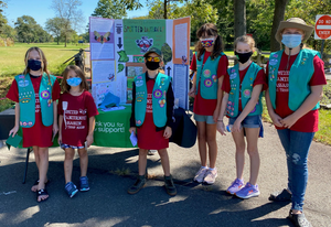 Piscataway Girl Scout Troop 80038's Bronze Award Project Focuses on Invasive Spotted Lanternfly