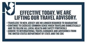 Governor Murphy Announces Lifting of Travel Advisory