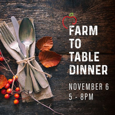 Treelicious, Farm to Table Dinner, Thanksgiving Dinner, Nutley Farmers Market