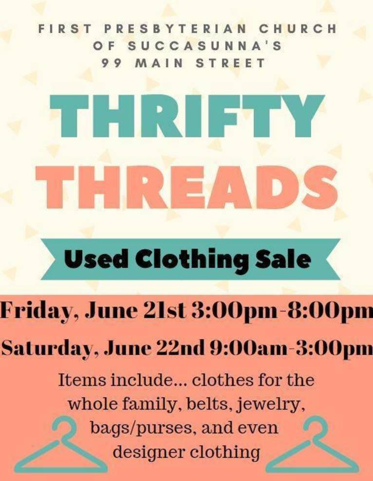 Thrifty Threads fundraiser