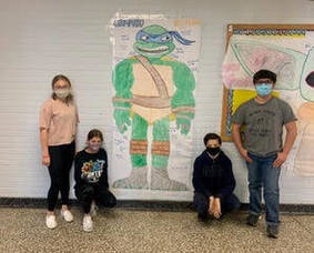 Kumpf Seventh Graders Complete Doll Project