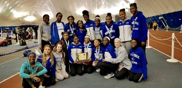 Uc girls track team wins state relays 2019.jpg