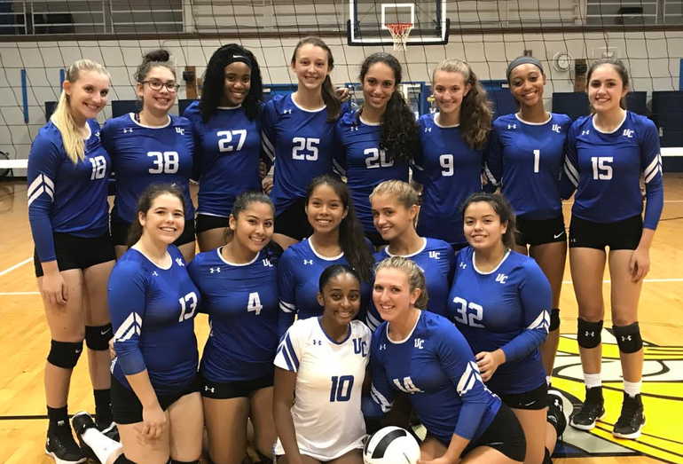 uc volleyball 2018 team.PNG