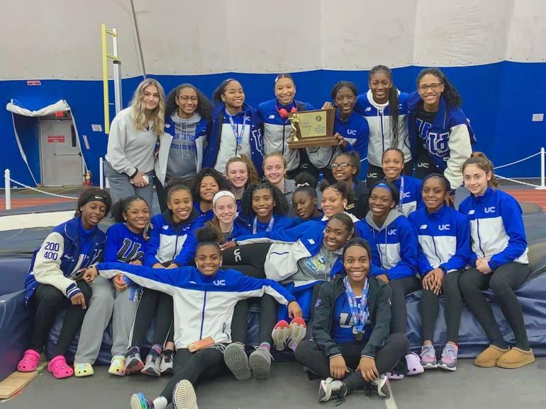 uc girls 2020 state track championship indoors.JPG