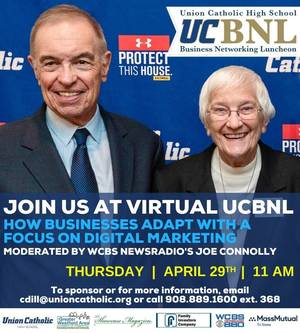 Register Now for The Sixth Union Catholic Business Networking Luncheon on Thurs, April 29