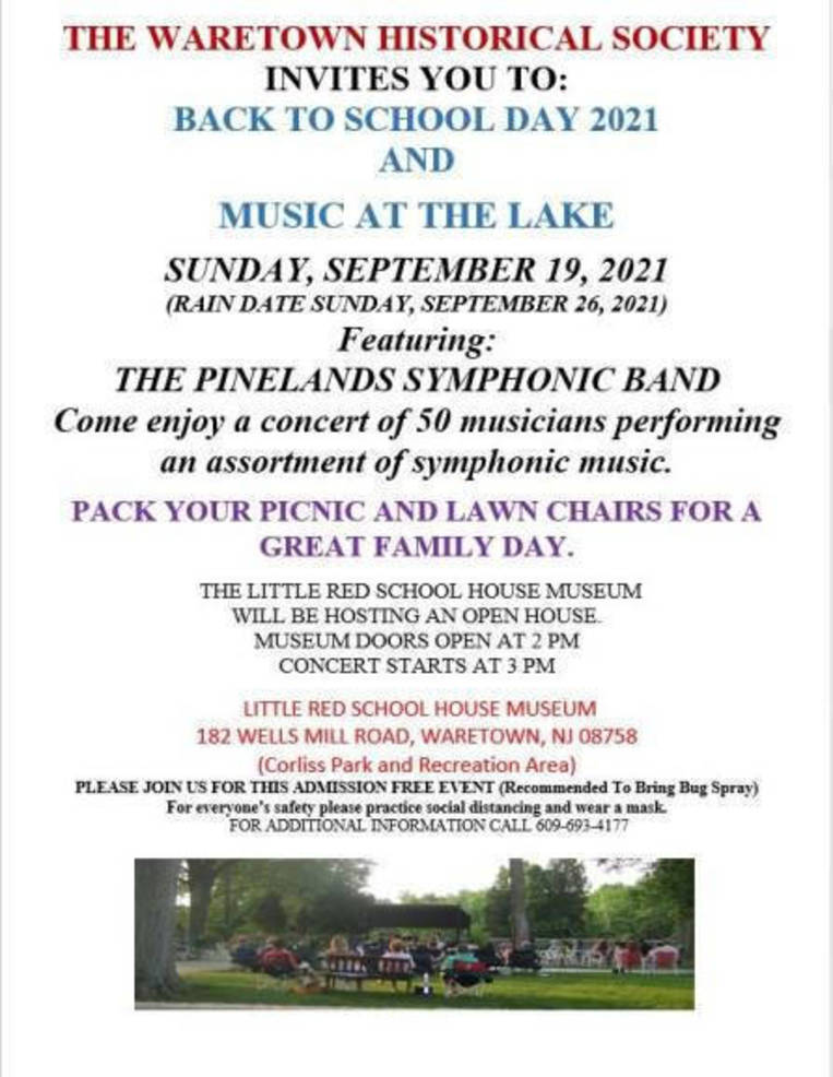 Back to School Day and Music at the Lake Set for Sunday in Waretown