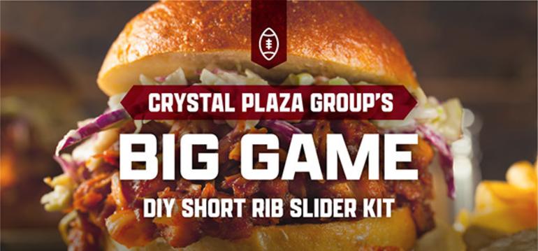 Crystal Plaza in Livingston Offers Big Game DIY Short Rib Slider Kit