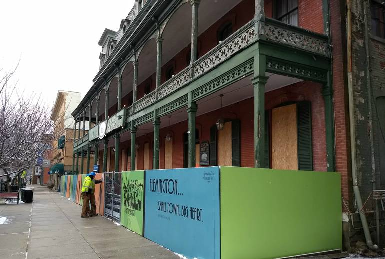 Flemington Officials Order New Study of Union Hotel Project