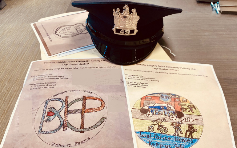 Winners of Berkeley Heights Community Policing Unit Logo Contest Announced