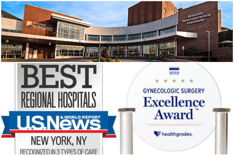 Summit's Overlook Medical Center Earns Accolades from U.S. News & World Report, Healthgrades