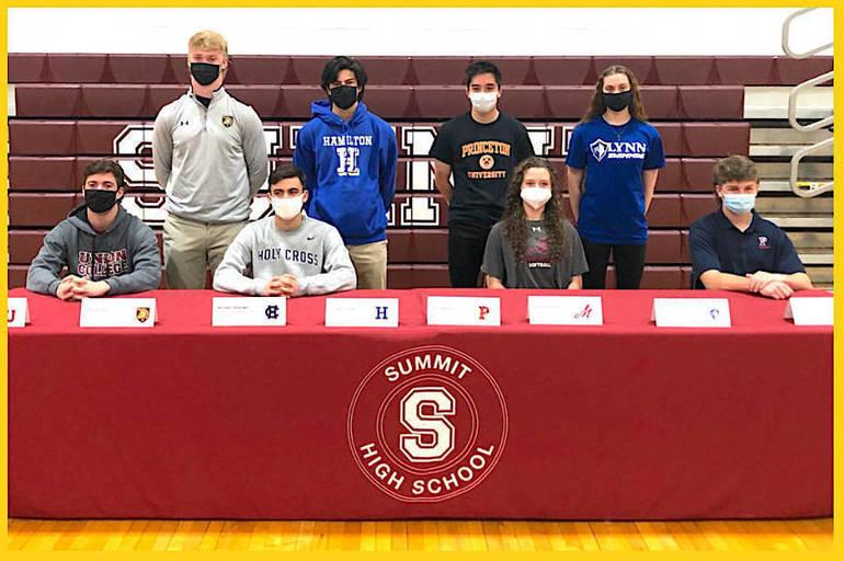 Eight Summit Senior Student-Athletes Declare Collegiate Destinations