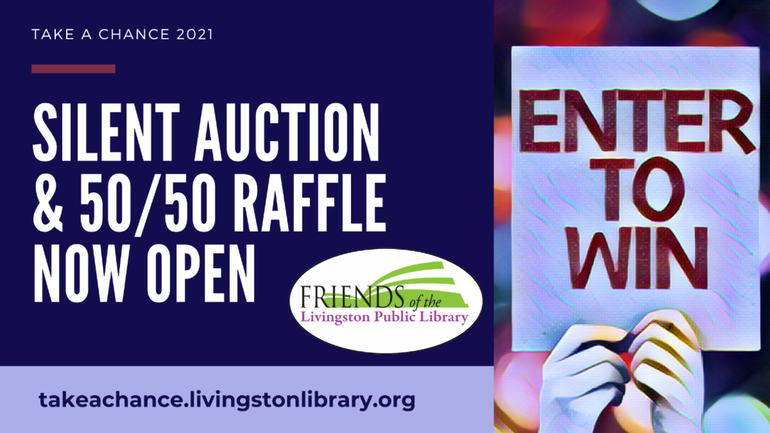 Friends of Livingston Library Launches Silent Auction Benefitting Community Programs