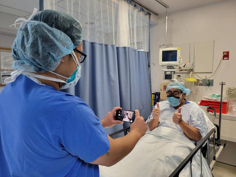 Trinitas Offers App to Update Patient Families During Surgery