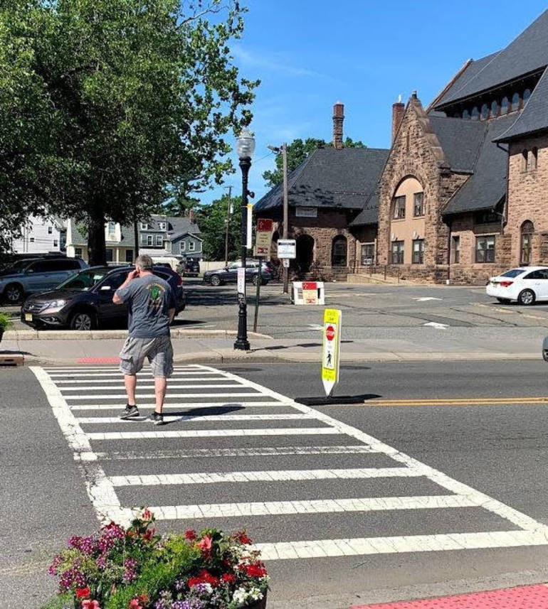 Town of Morristown Improves Pedestrian Safety Through Street Smart Campaign