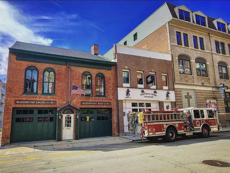Historic Morristown Firehouse Reveals New Garage Doors