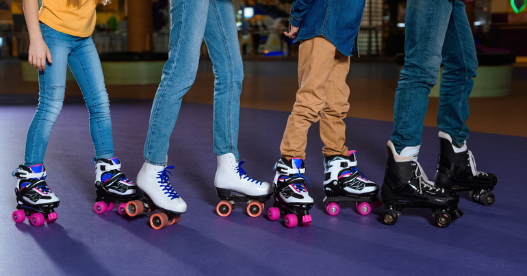 Roller Skating Fun