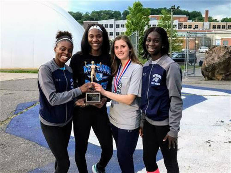 West Orange Girls Star At Essex County Track And Field