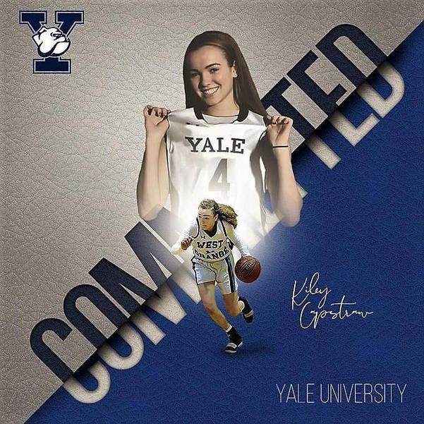 West Orange Girls Basketball Player Kiley Capstraw Verbally Commits to Yale University