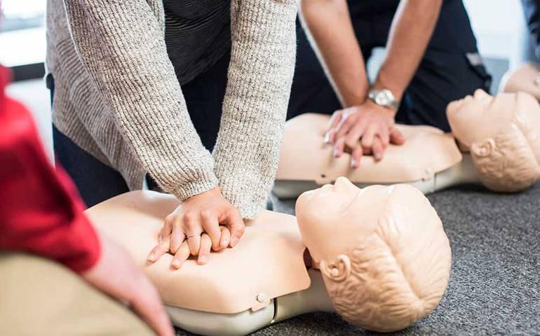 CPR Class at Hoboken American Legion Post 107 - Sunday, April 11