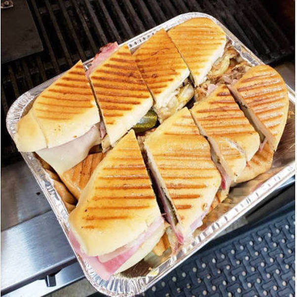 Cubano sandwiches at Cocina Borinqueña in Parlin.