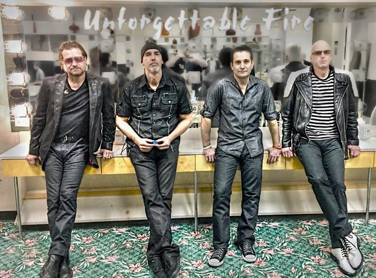 Unforgettable Fire will play at the Vo-Tech campus in Scotch Plains on March 20, 2021.