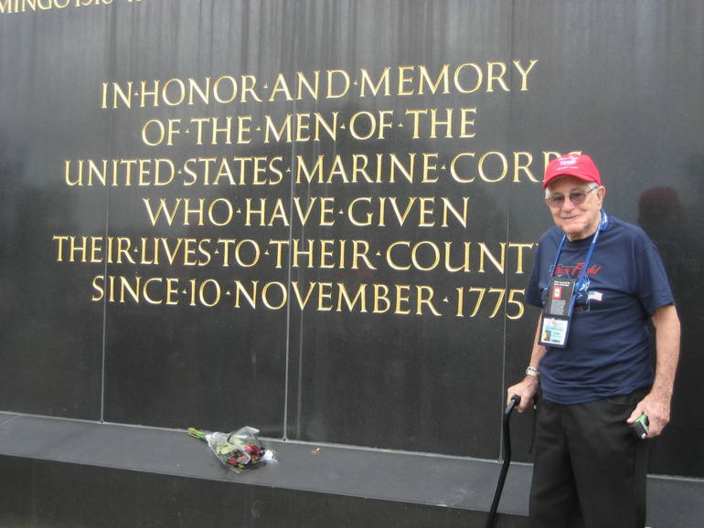 Coral Springs WWII Veteran Honored in Birthday Parade on Friday