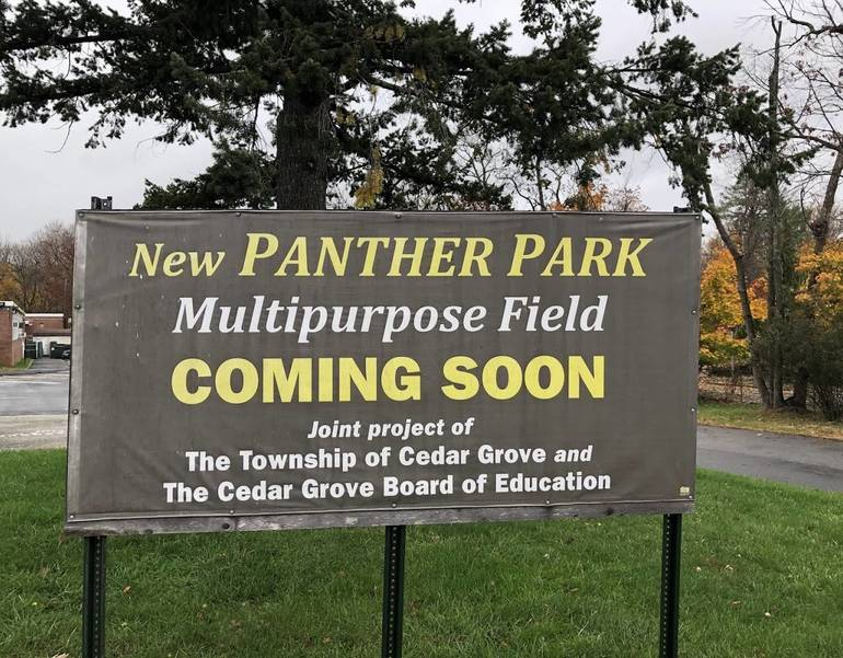 Panther Park Multipurpose Field Development Underway in Cedar Grove