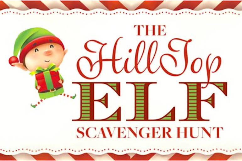 'HillTop Elf Scavenger Hunt' Begins on Summit's 'Small Business Saturday'