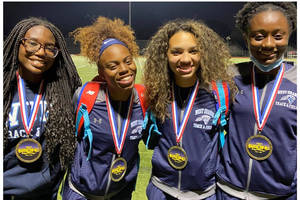 West Orange High School Track and Field Off and Running