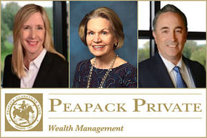 Tax Legislation Rules Topic of Peapack Private Wealth's Next Free Webinar, Oct. 28