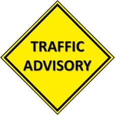 Traffic Advisory in Morristown for Water Street