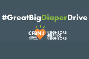 Community FoodBank of New Jersey Spearheads First-Ever #GreatBigDiaperDrive