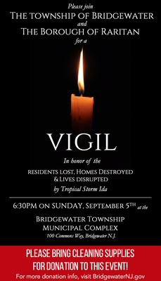 Bridgewater, Raritan Holding Joint Prayer Vigil Sunday