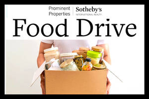 Local Sotheby's Offices Host Food Drive Supporting Community FoodBank of NJ