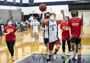 RHS Unified Basketball Wins Against Visiting Mount Olive
