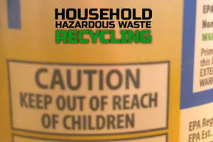 Recycle Household Hazardous Waste at Area Event, Sept. 12