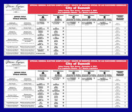 General Election Sample Ballots Now Available Online