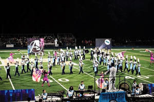 Marching Mountaineers Take Top Awards at 12th Annual Roxbury Marching Band Classic