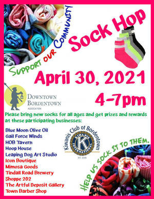 Sock Hop Your Way Thru City on Friday for DBA, Kiwanis Donation Event