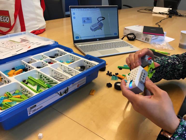 Using LEGO Education Sets at Training.jpg