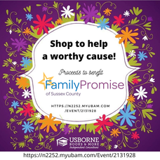 Usborne Books Fundraiser to Benefit Family Promise of Sussex County