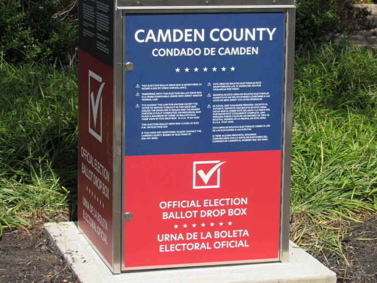 Hey Camden, It's the Last Day to Register to Vote