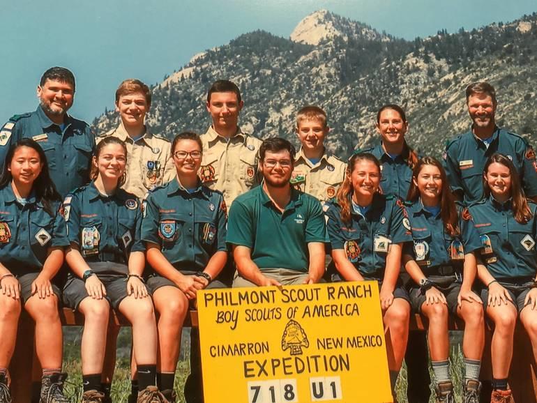 Venture Crew 28 at Philmont Scout Ranch.JPG