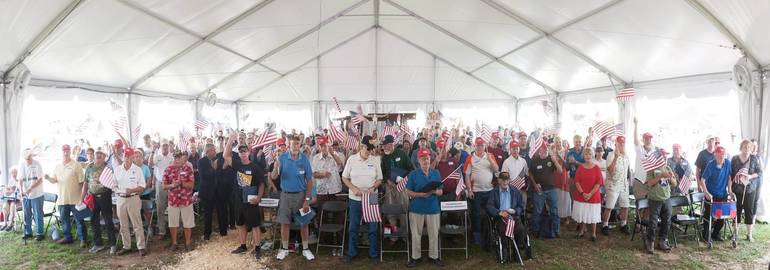 Military Veterans Honored at Hunterdon 4-H Fair | TAPinto